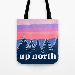 up north, pink hues Tote Bag