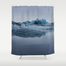 Glaciers Shower Curtain