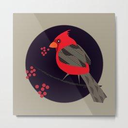 Cardinal Song Metal Print