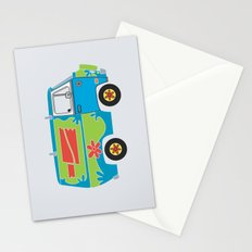 Mystery of the Lost Parts Stationery Cards
