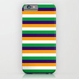 India flag stripes iPhone Case