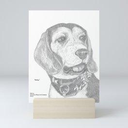 Portrait of Betsy Mini Art Print