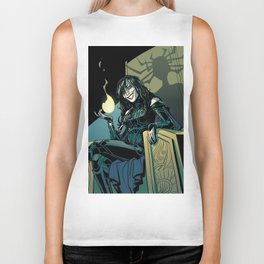 Goddess of Death Biker Tank