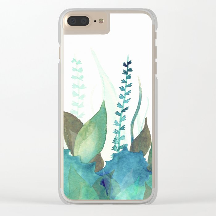 Botanical vibes 04 Clear iPhone Case