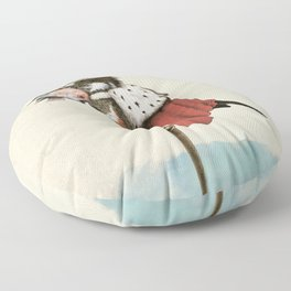 King Fisher Floor Pillow