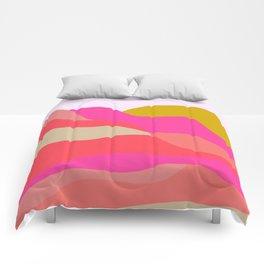 Adelaida, mountain sunset Comforters