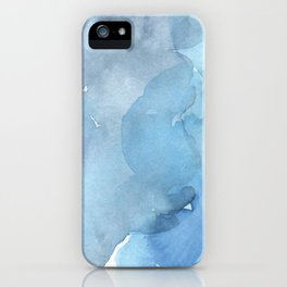 blue#2 iPhone Case