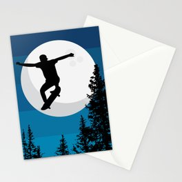 The perfect ollie trick Stationery Cards