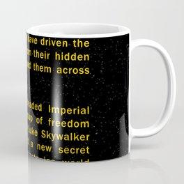 Episode V Crawl Text Coffee Mug