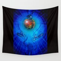 freedom Wall Tapestries featuring Freedom by Walter Zettl