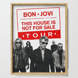 bon jovi this house not for sale album 2019 putro Serving Tray