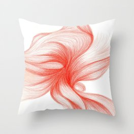 Écarlate Singularis Throw Pillow