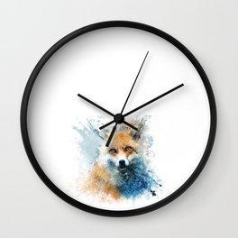 sly fox Wall Clock