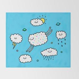 Happy Weather Throw Blanket