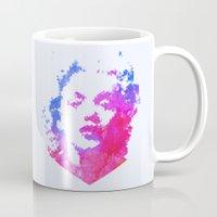 cassandra jean Mugs featuring Norma Jean by Fimbis