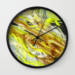 Oil & Dirt Wall Clock