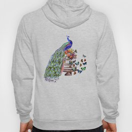 Vintage Peacock Beauty Hoody