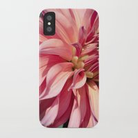 dahlia iPhone & iPod Cases featuring Dahlia  by A Wandering Soul