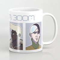 fifth element Mugs featuring Fifth Element by enerjax