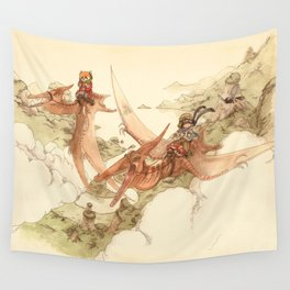 At the End of the World Wall Tapestry