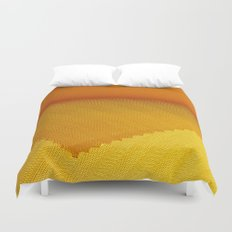 Yellow cover Duvet Cover