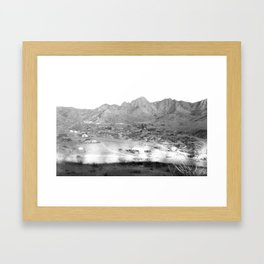 Pima County, Arizona. 1909 Framed Art Print