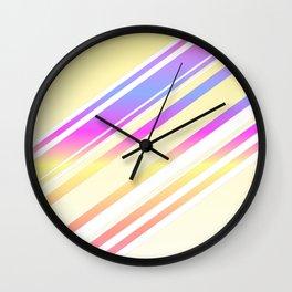 Radiant Gradient (yellow) Wall Clock
