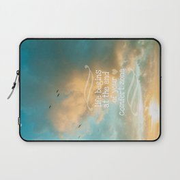 Life Begins Design Laptop Sleeve