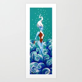 Namorita Art Print