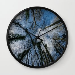 Loamhole Dingle Treetops Wall Clock