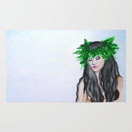 hula girl Rug