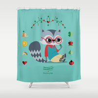 cassandra jean Shower Curtains featuring Jean Paul by gabriela