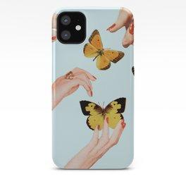 Social Butterflies iPhone Case