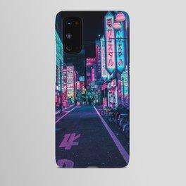A Neon Wonderland called Tokyo Android Case