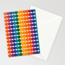 Rainbow Overprint Stationery Cards