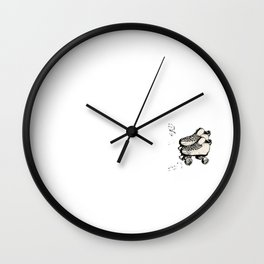 Skating Skaters Skate Rollerblade Slipping Gift  Wall Clock