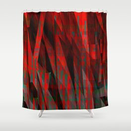 hell's hotels Shower Curtain