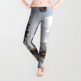 Alpine Lake Reflections Leggings