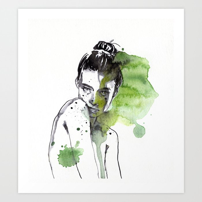 Discover the motif SMALL PIECE 30 by Agnes Cecile as a print at TOPPOSTER