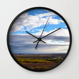 Nome in Autumn Wall Clock