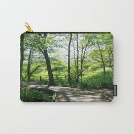 Wooden Path Carry-All Pouch