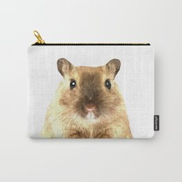 Hamster Portrait Carry-All Pouch