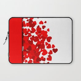 Hearts falling out of an envelope Laptop Sleeve