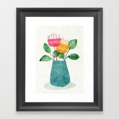 Bouquet Framed Art Print