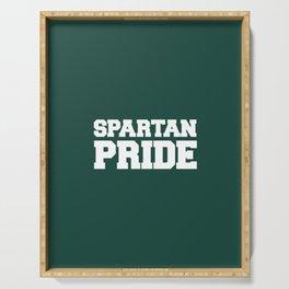 Spartan Pride Serving Tray