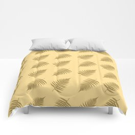 Fern pattern in cappuccino  Comforters