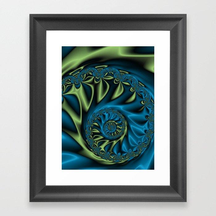 Bioluninescence #3 Framed Art Print
