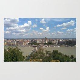 Budapest /Danube River/ Summer/ sunshine Rug
