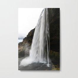 powerful falls Metal Print