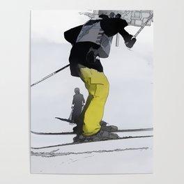 Natural High   - Ski Jump Landing Poster